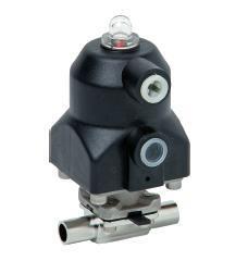 Серия ASCO KMA Тип 190 с пневматическим управлением DN 4 - 15мм (1/4-1/2)