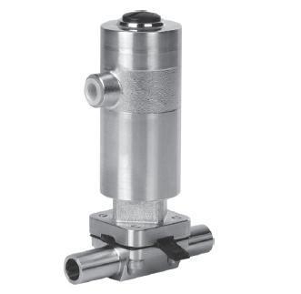 Серия ASCO Steripur Тип 207 с пневматическим управлением DN 4-15мм (1/4-1/2)