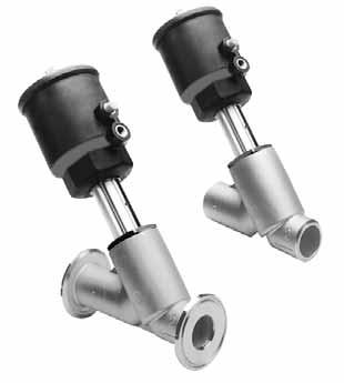 Клапан ASCO серий S290, Y290, U290, корпус нержавеющая сталь. Кламп (CLAMP), под приварку. 2/2