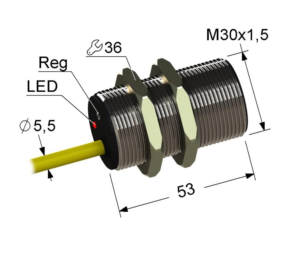 Емкостный выключатель VB1-30M65-10B21-K (ВБ1.30М.65.10.2.1.К)